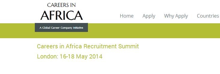 (London & Paris) – Careers in Africa Recruitment Summit