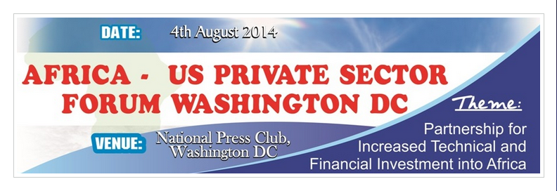 Great Chance  For You To Network At The Africa-US Private Sector Forum
