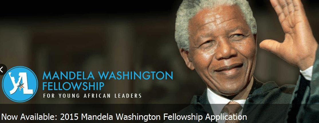 (Now OPEN: Oct 7 – Nov 5) Call for Applications for Obama's Mandela Washington Fellowship !