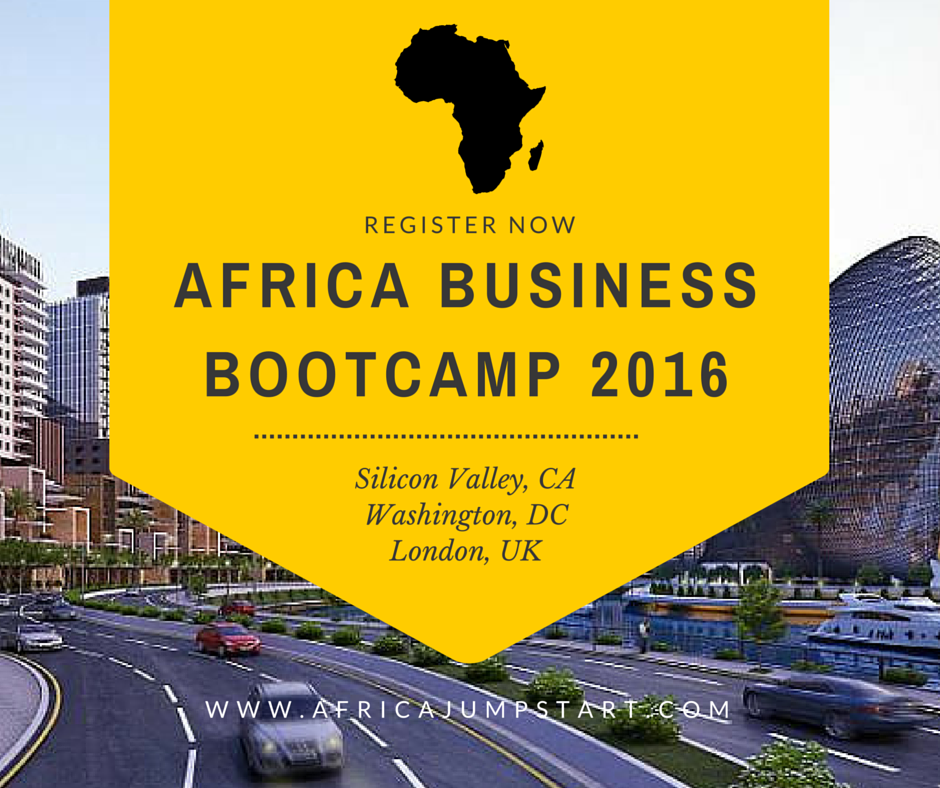 Join Africa Business Bootcamp 2016 USA & UK